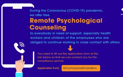 We Offer Remote Psychological Counseling During the Coronavirus (COVID-19) Pandemic!