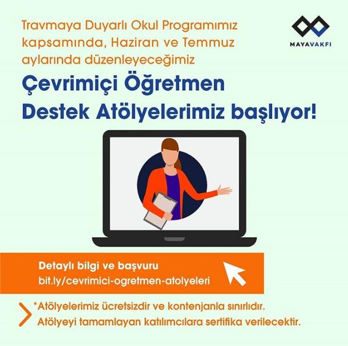 Çevrimiçi Öğretmen Eğitimlerimiz Başlıyor!