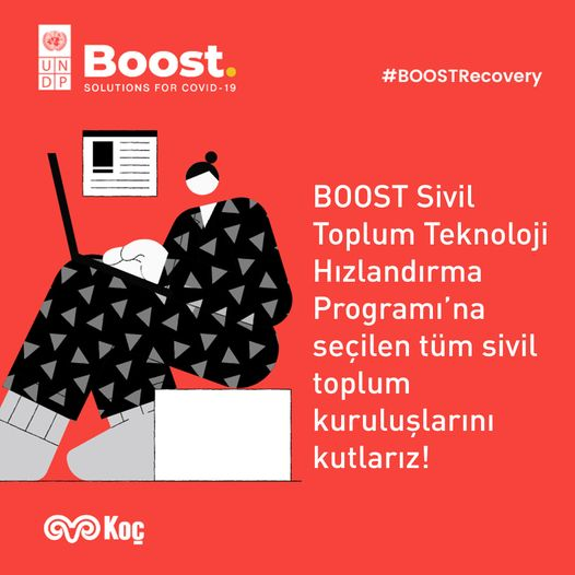 BOOST Sivil Toplum Teknoloji Hızlandırma Programı'nda biz de varız!