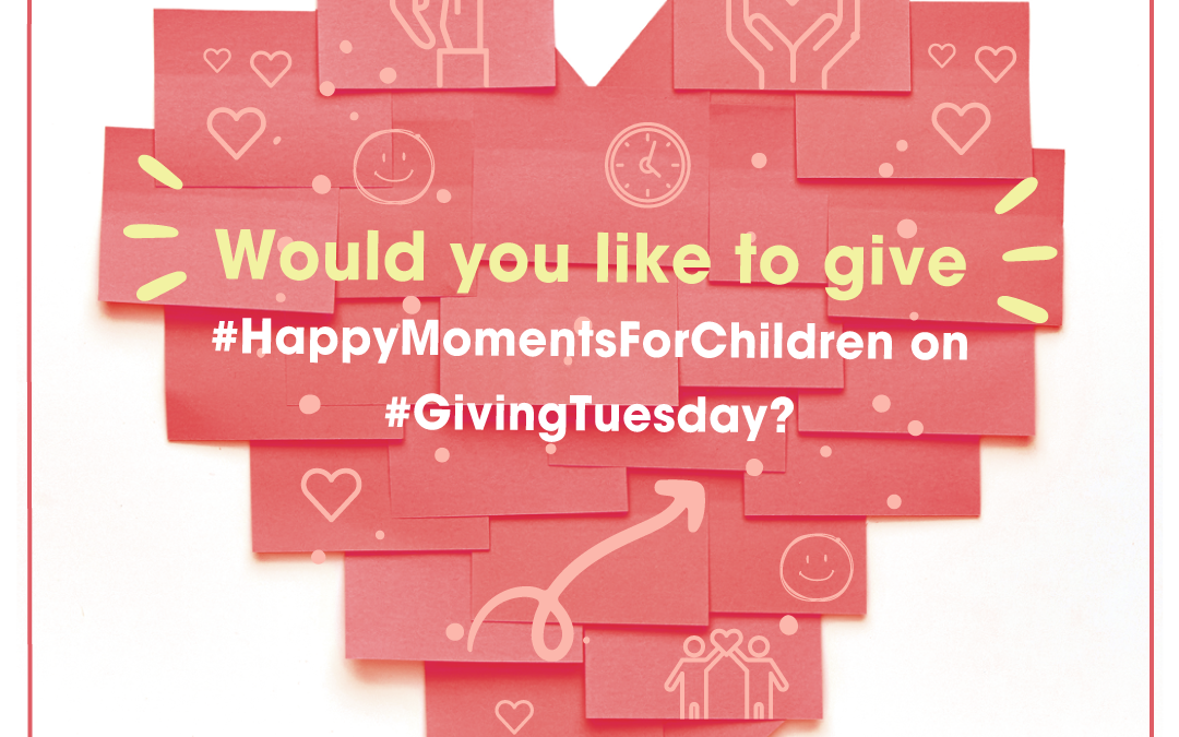 Today is #GivingTuesday! Let's share happiness!