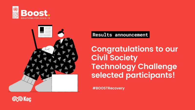 We are in the BOOST Civil Society Technology Challenge Program
