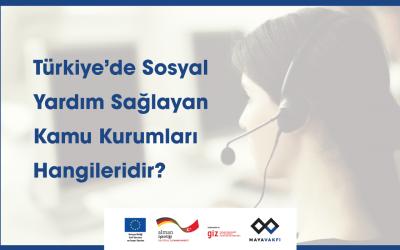 Türkiye'de Sosyal Yardım Sağlayan Kamu Kurumları Hangileridir?