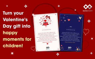 Turn your Valentine's Day gift into happy moments for children